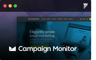f campaigmonitor - FLATPACK – Landing Pages Pack With Page Builder