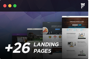 s1 - FLATPACK – Landing Pages Pack With Page Builder