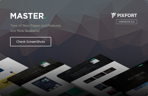 MASTER - Corporate Multipurpose PSD Template - 1